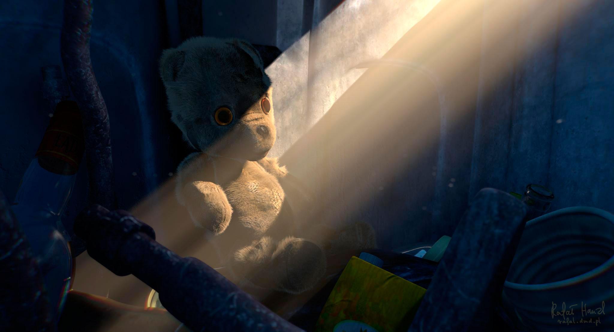 Rebirth: the teddy bear